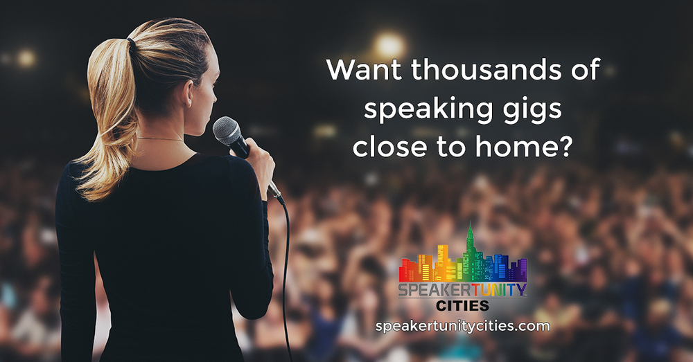 SpeakerTunity Cities Social - Question Website