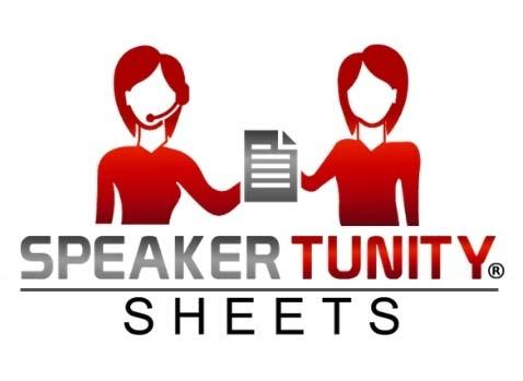 SpeakerTunity Sheets