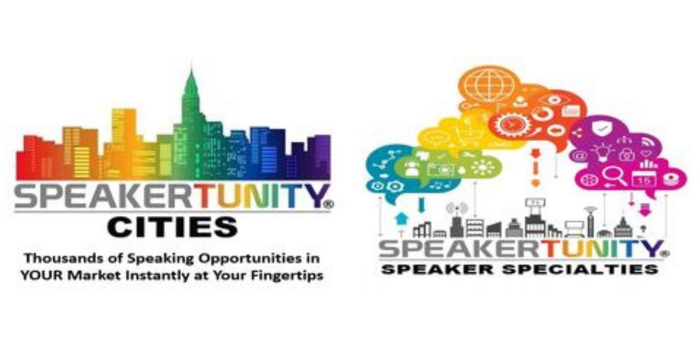 SpeakerTunity Cities & Specialties combined logo